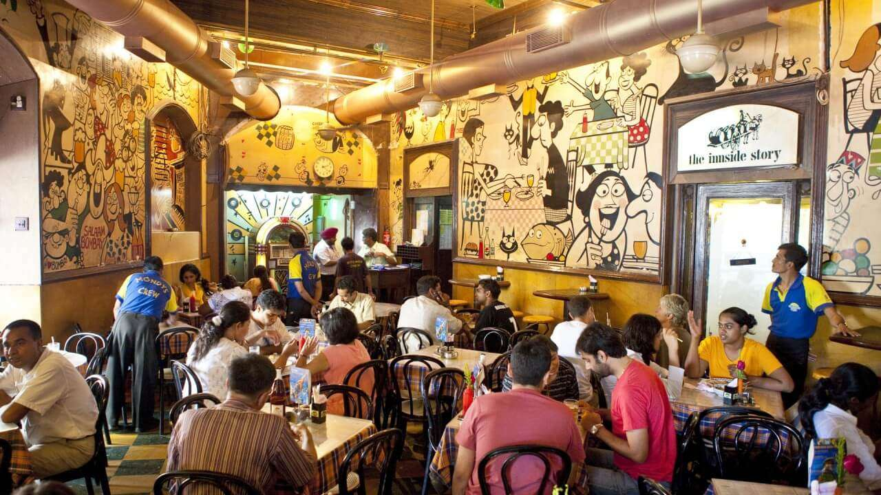 Inside of parsi cafe