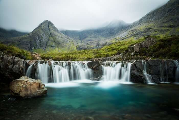 Waterfall in Scotland