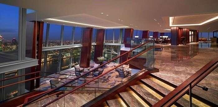 shangri la hotel london