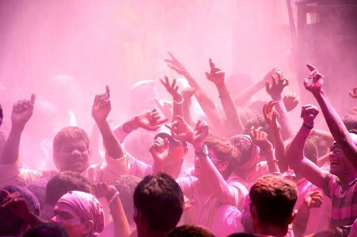 Holi Camping festival event in Pale