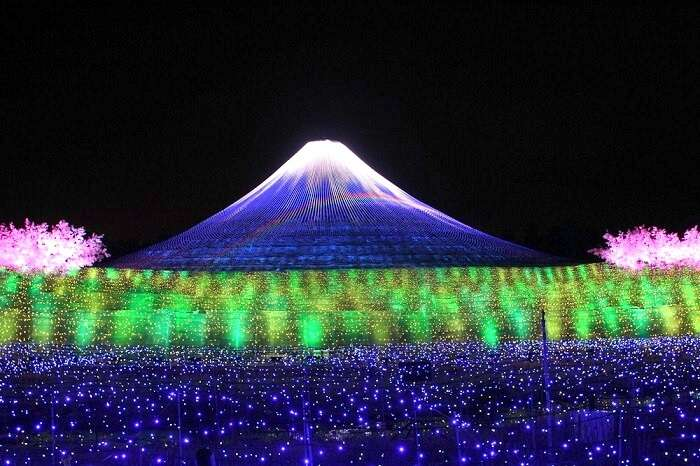 Blue Mountain Japan winter lights festival