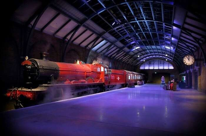 harry potter film set in london