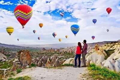 Hot-Air Balloon In Cappadocia