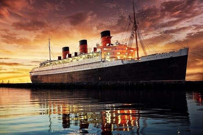 RMS Queen Mary, California