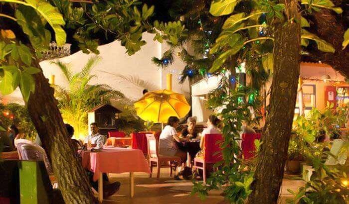 Le Club Restaurant in Pondicherry