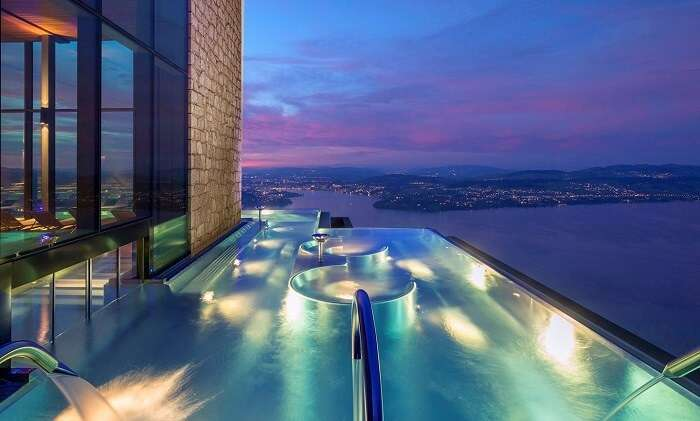 Alpine Spa, Bürgenstock, Switzerland