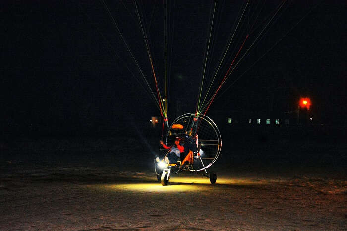 Paramotoring at Kutch