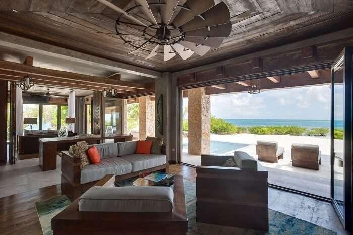 room at gladden island caribbean