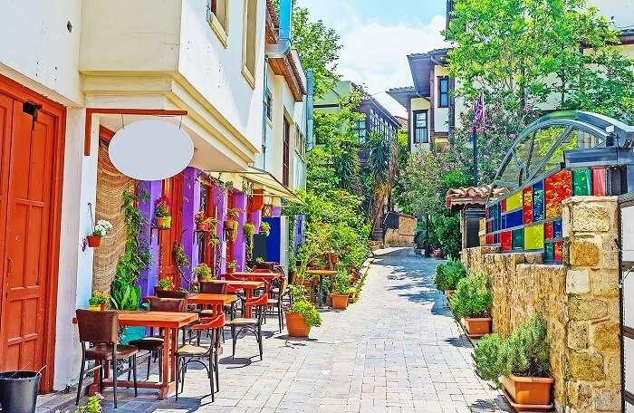 Antalya on Turkey honeymoon