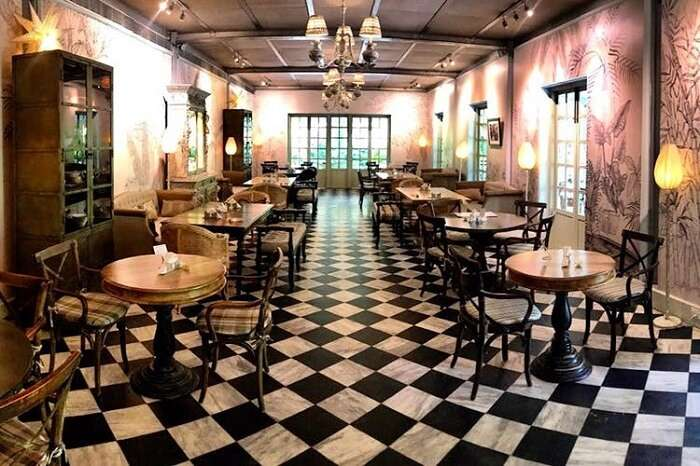 Wild Garden Café at Amethyst Chennai
