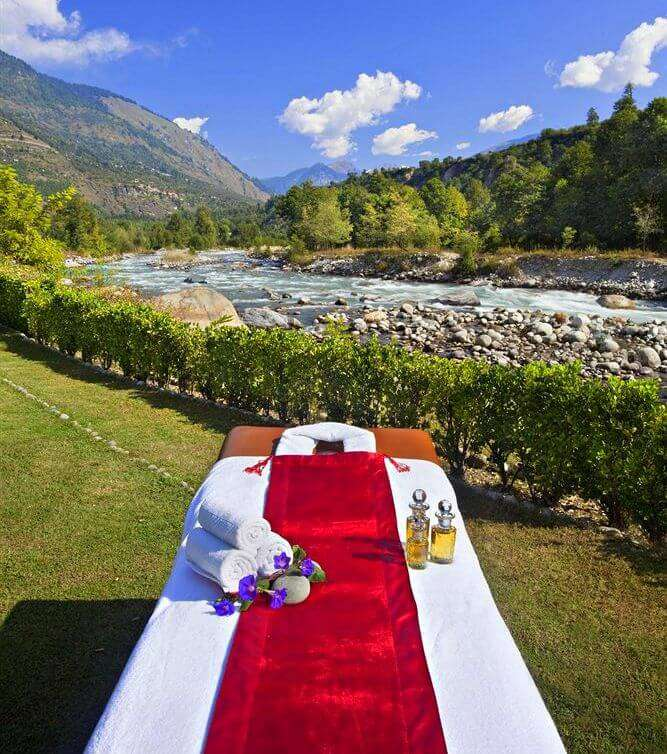 Span Resort & Spa open air spa