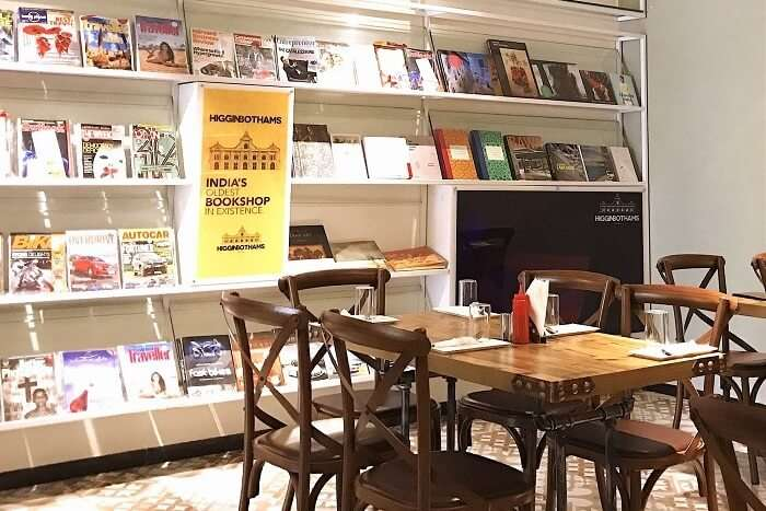 Higginbothams Writer's Café