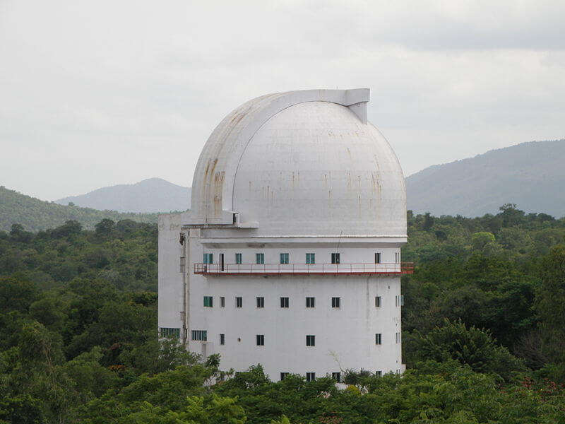 a white colour astrophysical observatory