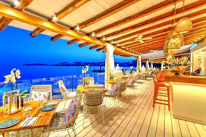 Buddha Bar in Mykonos Greece