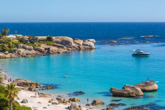 Clifton Beach in South Africa