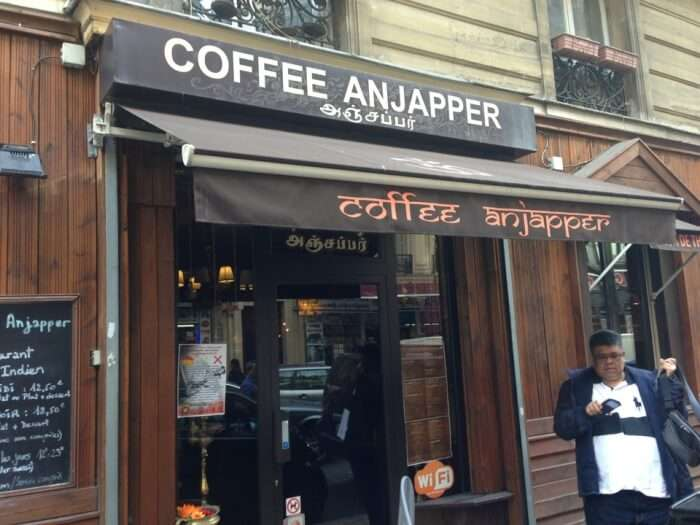 Coffee Anjapper in Paris