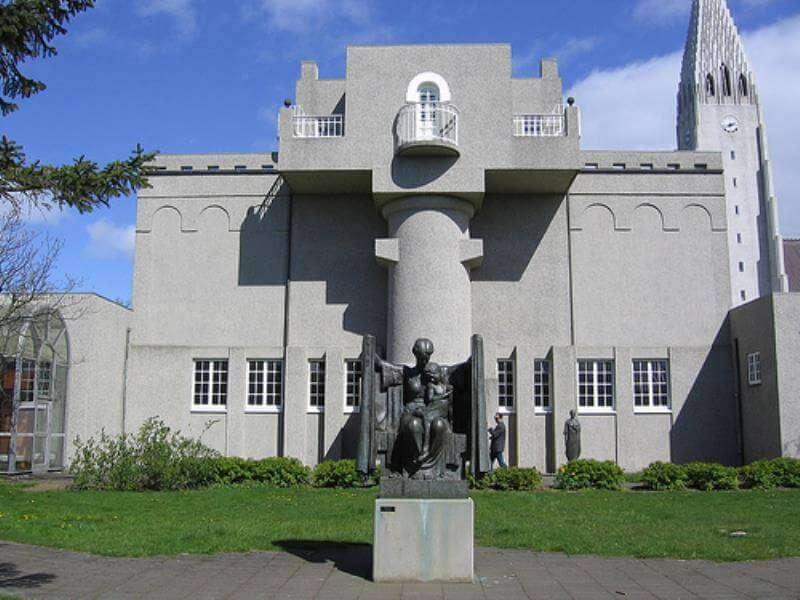 gray colour Einar Jonsson Museum
