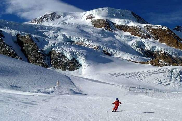 Go summer skiing in Saas Fee, Switzerland