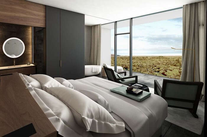 room at The Retreat blue lagoon iceland