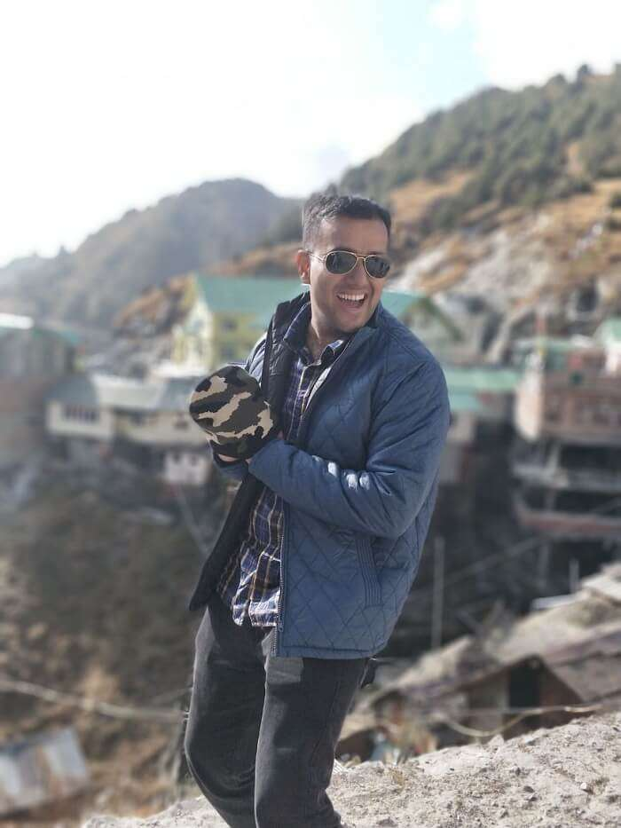 Chavis husband in gangtok