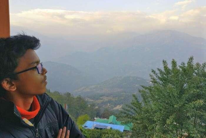 Shantanu northeast trip- looking at the views
