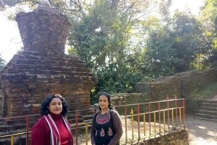 Shantanu northeast trip- outside rabdentse ruins