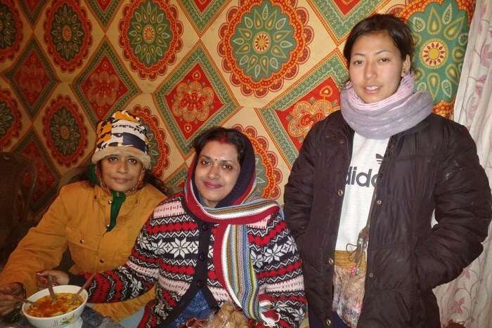 Shantanu northeast trip- resting the room