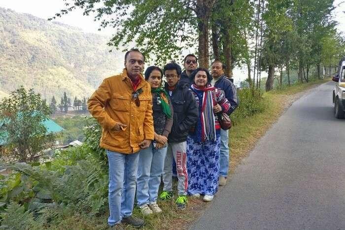 Shantanu northeast trip- road trip on the hills
