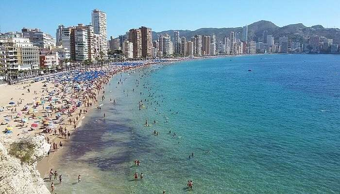 local beach near Valencia