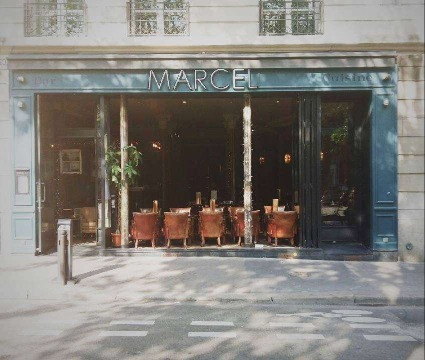 Marcel Indian Restaurant in Paris