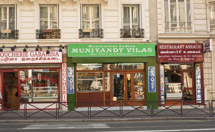 Muniyandi Vilas in Paris