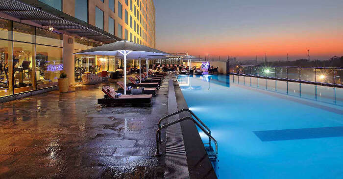 Novotel Pune Nagar Road swimming pool