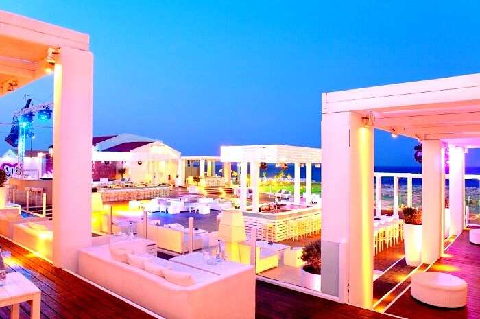Paradiso Beach Club in Rhodes Greece
