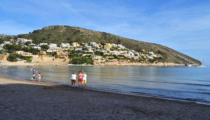 famous beach near Valencia