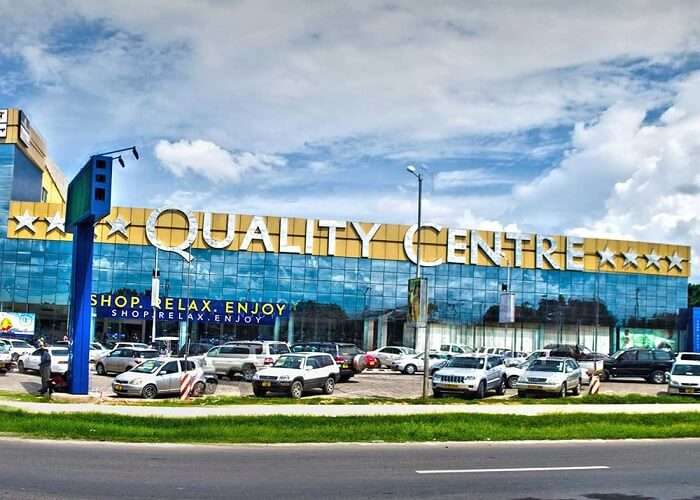 Quality shopping centre Tanzania
