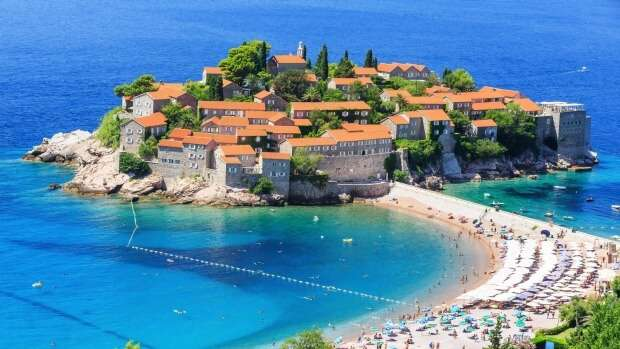 Relax on the unspoiled beaches of Montenegro