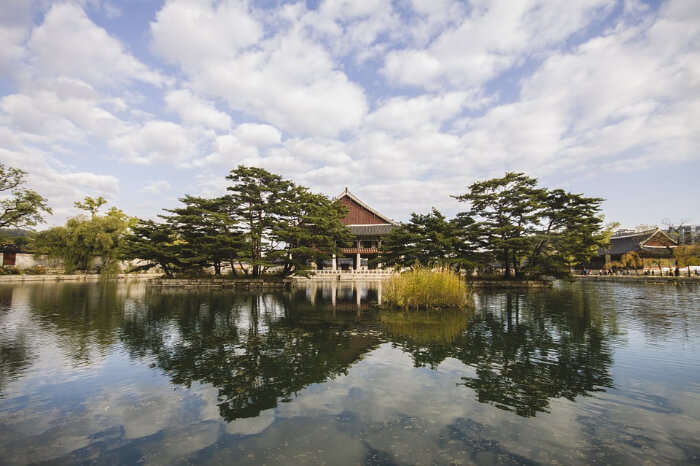 A serene location in South Korea