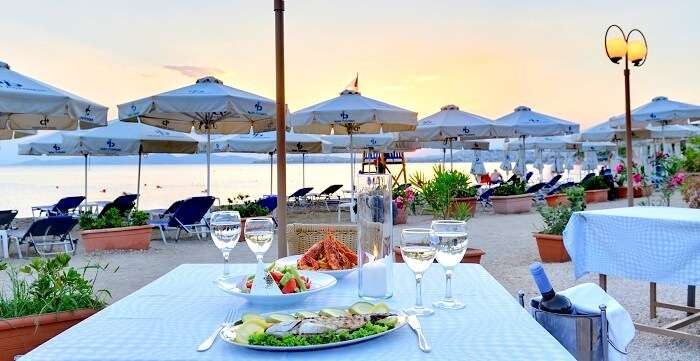 Tavern Beach Bar in Athens Greece