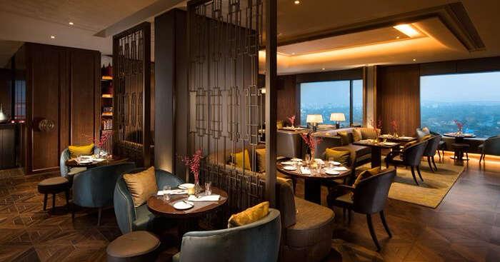 Conrad Pune dining area