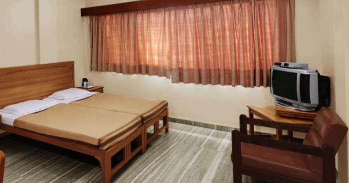 inside hotel meru