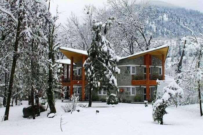 span resort and spa snow