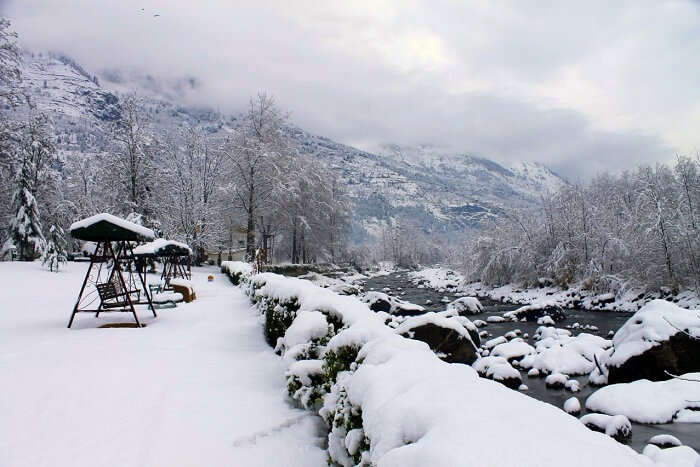 span resort and spa river snow