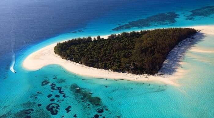 mnemba island in Tanzania