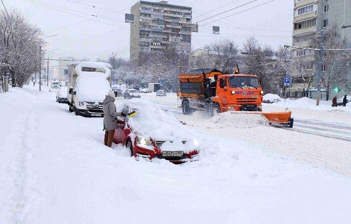 snowfall moscow 2018