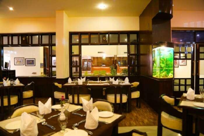 Sitting atmuse restaurant Dehradun