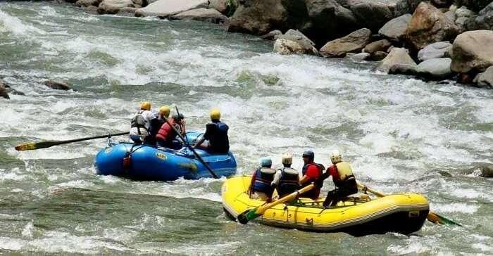 river rafting in spiti