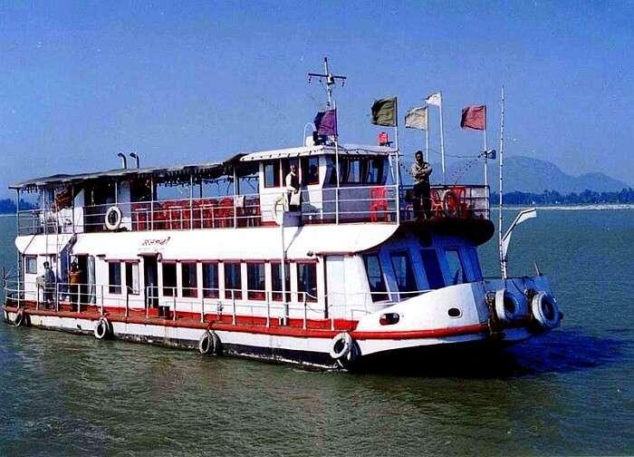 river cruising in Brahmaputra