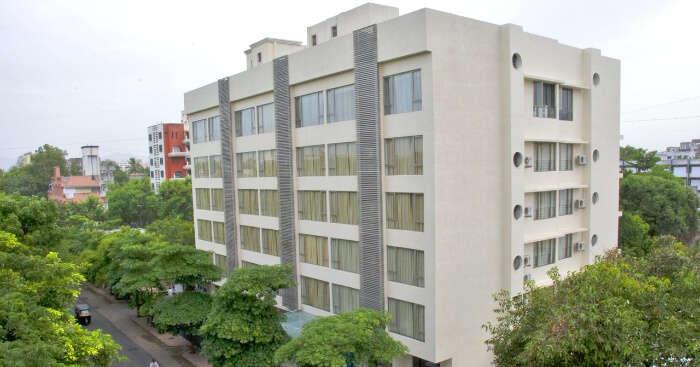 building of santai hotel