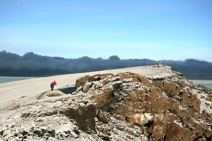 ttrekker at shira route kilimanjaro
