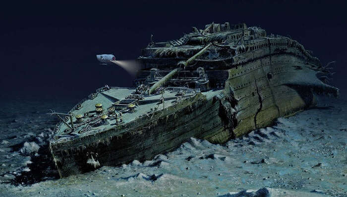 titanic wreck exploration